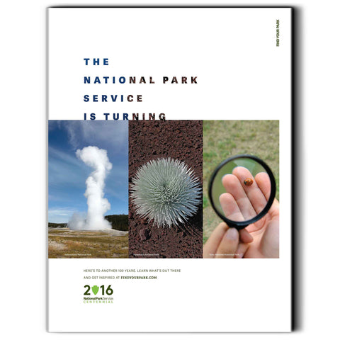 National Park Service Centennial Commemorative Poster 1