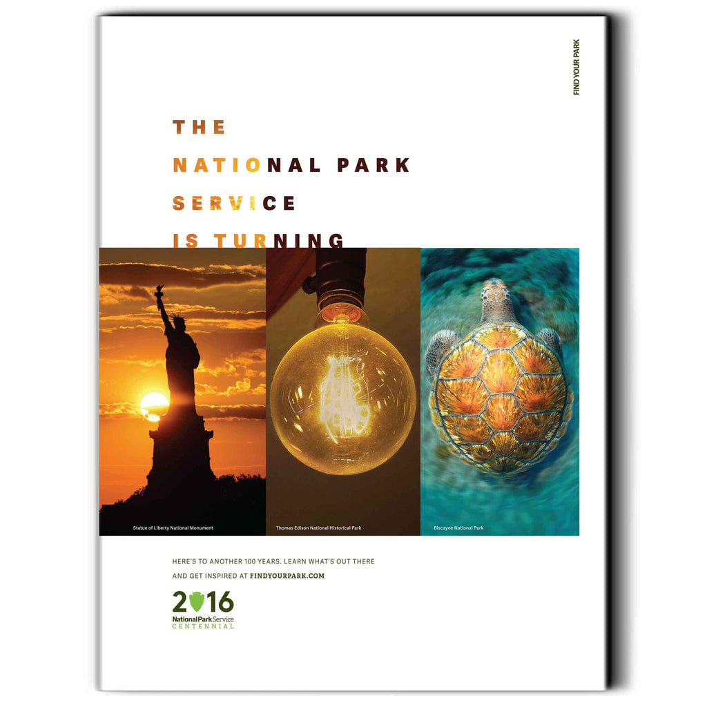 National Park Service Centennial Commemorative Poster 2