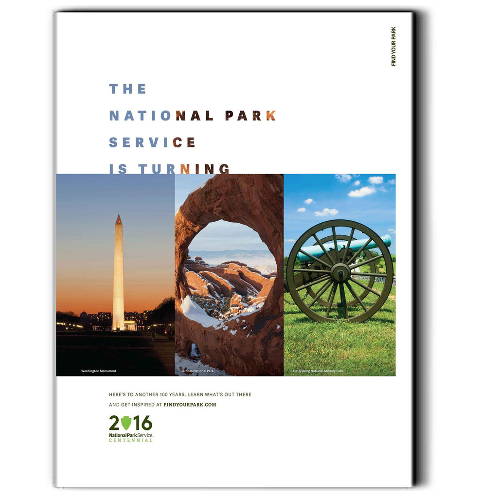 National Park Service Centennial Commemorative Poster 3