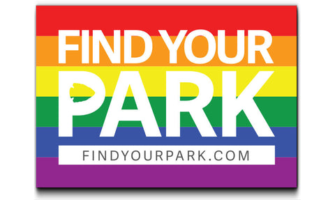 Find Your Park Stonewall Sticker | Find Your Park | National Park Sticker