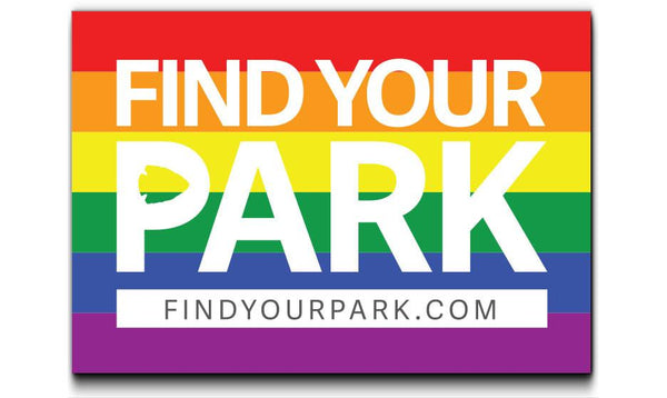 Find Your Park Stonewall Sticker