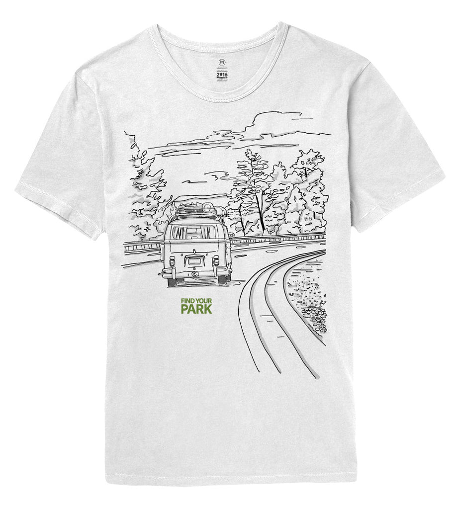Find Your Park Camper Tee