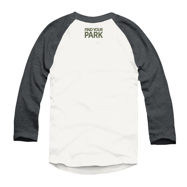 Find Your Park Bison Raglan T-Shirt | Find Your Park | Official Store for the National Park Service