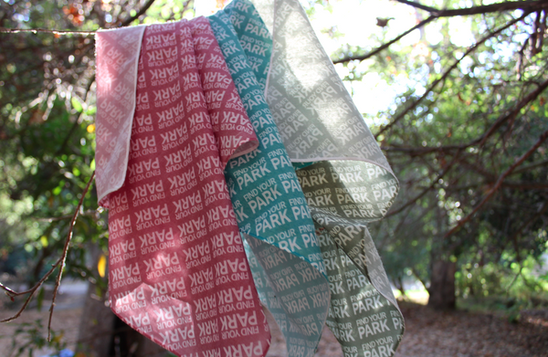 Find Your Park Eco Bandana (3 pack)