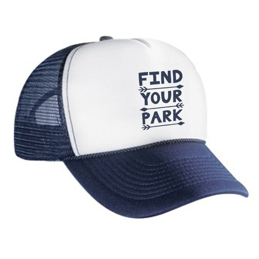 Find Your Park Trucker Hat