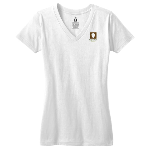 National Park Service Logo Women's V-Neck Tee