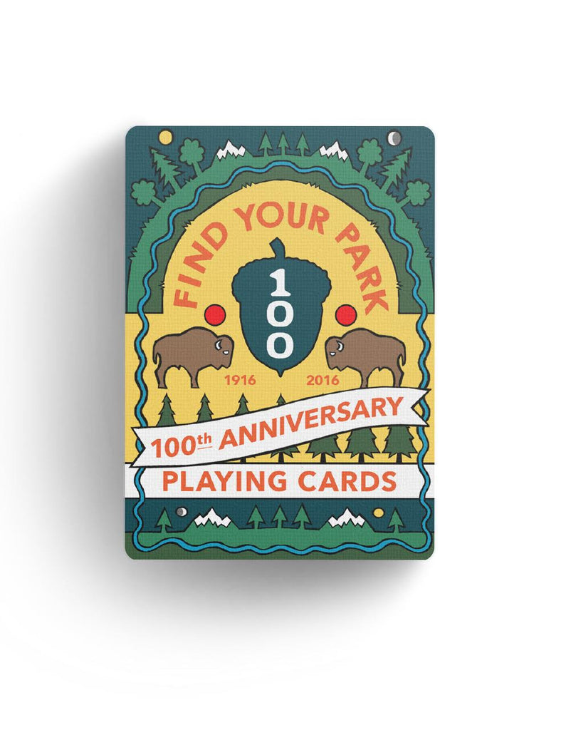 products national parks playing cards