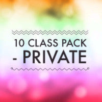 10 PRIVATE CLASS PACK