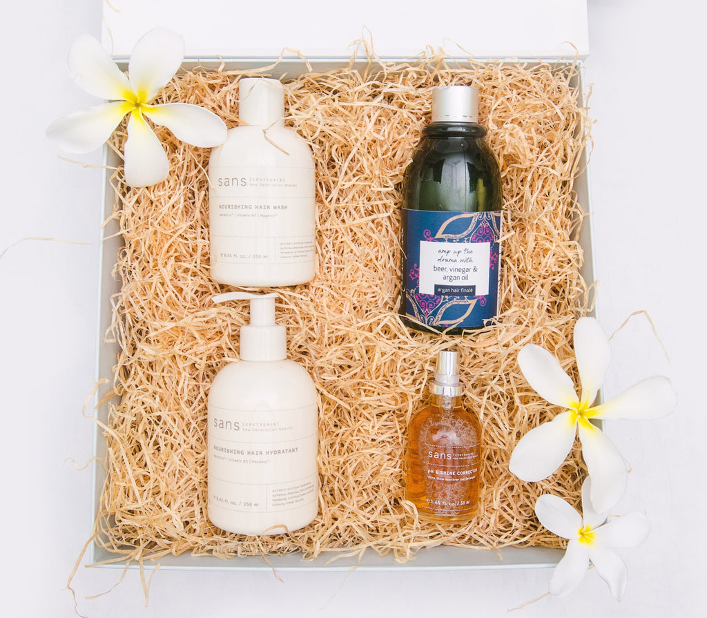 Hibiscus Hair-care Box