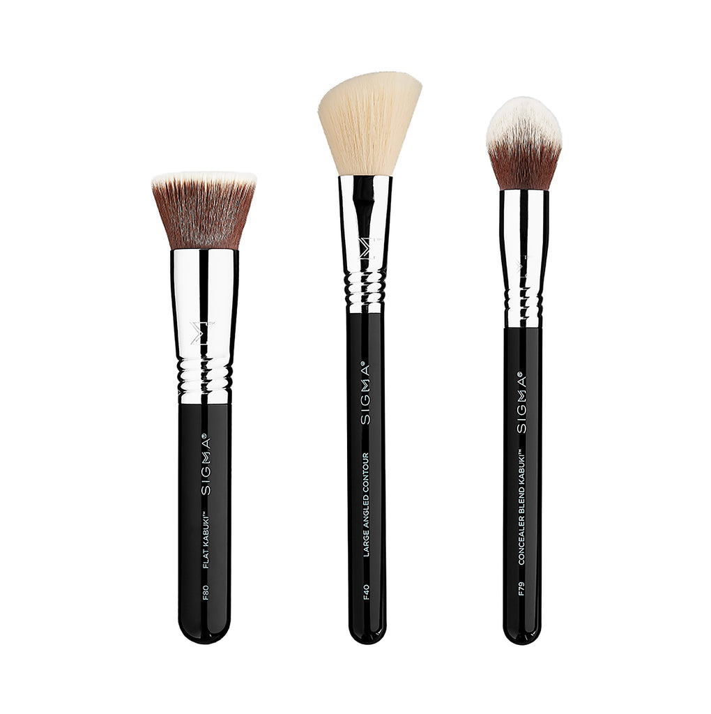 SIGMA Finished Face Brush Set