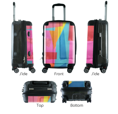 Auerbach Vieira Limited Edition Hidden Truth Series Carry-On