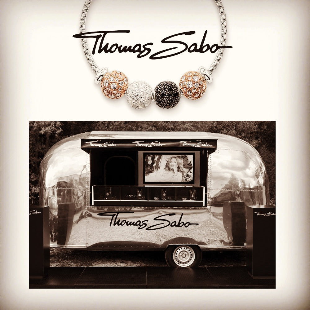 Win some jewellery with the Thomas Sabo caravan