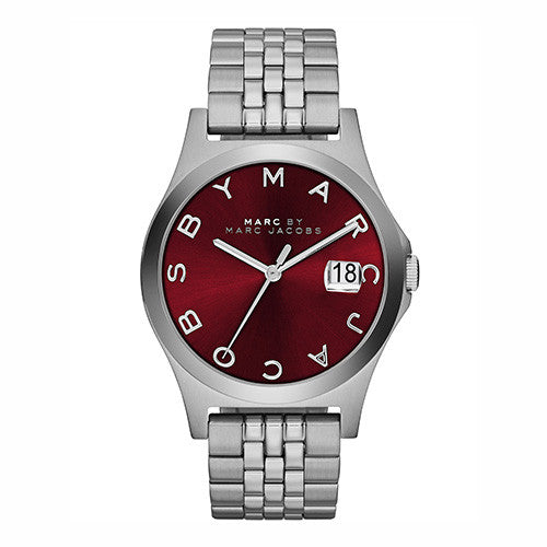 Marc by Marc Jacobs Mens Red Dial The Slim Watch