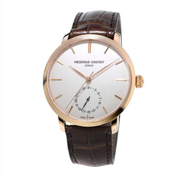 Frédérique Constant Slimline White Dial 42mm Automatic Gents Watch