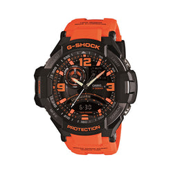 Casio G-Shock Black And Orange Watch