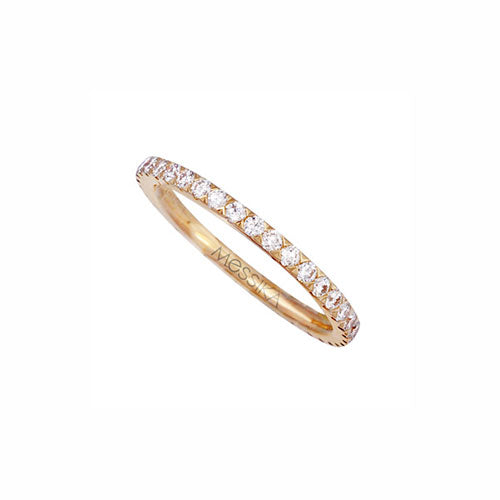Messika Gatsby 0.63ct Diamond And 18ct Yellow Gold Ring