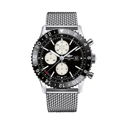 Breitling Gents Chronoliner Black Dial Watch