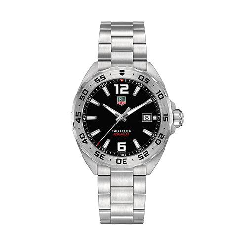 Tag Heuer Gents Black and Steel Formula 1 Watch