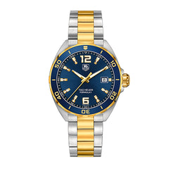 TAG Heuer Formula 1 Two-Tone 41mm Blue Dial Men's watch