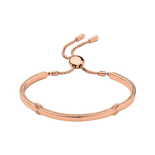 Links of London Narrative 18ct Rose Gold Vermeil Bracelet