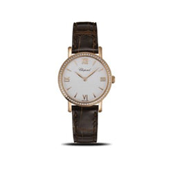 Chopard Classic Diamond & Rose-Gold 28mm Automatic Ladies Watch