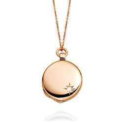 Astley Clarke Rose Gold Medium Astley Locket