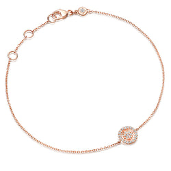 Astley Clarke Rose Gold & Diamond Mini Aura Bracelet