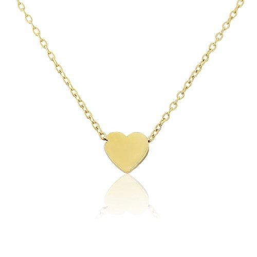 Mark Milton 9ct Yellow Gold Heart Necklace