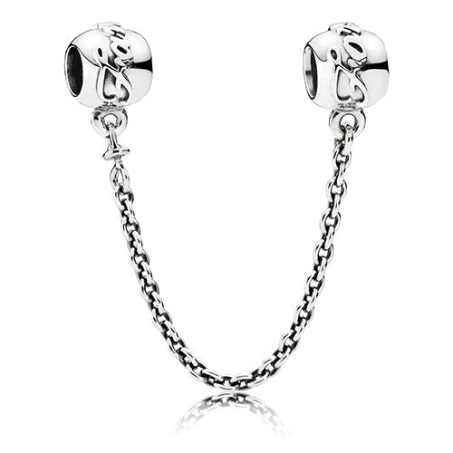 PANDORA Silver Family Ties Safety Chain