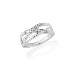 Mark Milton 9ct White Gold & Diamond Ring