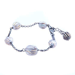 Roberto Coin Sterling Silver Multi-Ball Bracelet