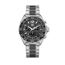 TAG Heuer Formula 1 Steel & Ceramic 43 mm Chronograph Men's Watch