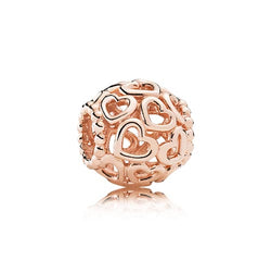 PANDORA Rose Open Your Heart charm