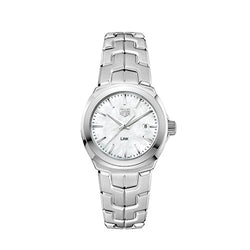 TAG Heuer Lady Link Mother Of Pearl Steel 32mm Women's Watch