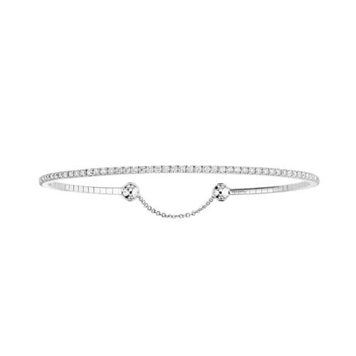 Messika 18ct White Gold And 0.78ct Diamond Skinny Bracelet