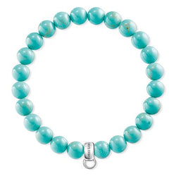 Thomas Sabo Sterling Silver Turquoise Bracelet