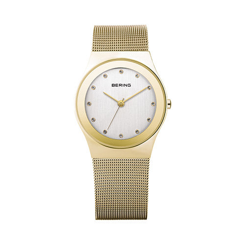b8259ef17f3 Bering Rose-Gold Plated Mesh Bracelet 22mm Women s Watch – Hugh Rice