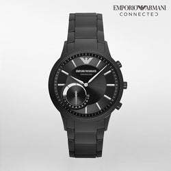 Emporio Armani Connected Black Matte Smartwatch