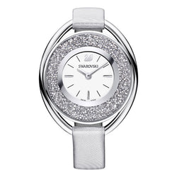 Swarovski Crystalline Grey Oval Watch