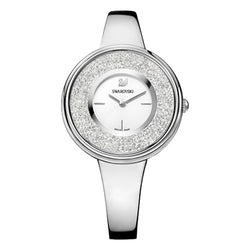 Swarovski Crystalline Pure Silver Tone Watch