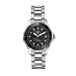 TAG Heuer Aquaracer Diamond Black Mother of Pearl 35mm Women's Watch