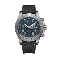 Breitling Avenger Bandit Grey Chronograph Military 45 mm Watch