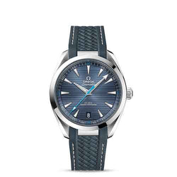 Omega Seamaster Aqua Terra Steel Blue 41 mm Automatic Men's Watch