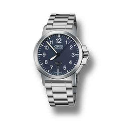 Oris BC3 Advanced Steel & Blue 42mm Automatic Men's Watch