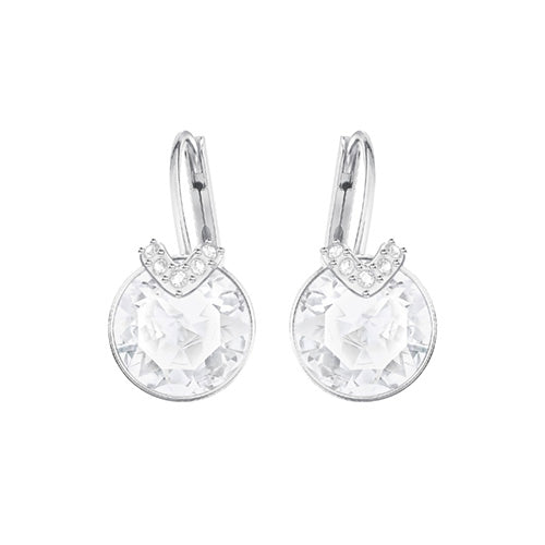 Swarovski Bella V White Rhodium Plated Earrings