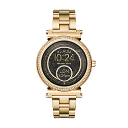 Michael Kors Ladies Access Yellow Gold Tone Sofie Smartwatch