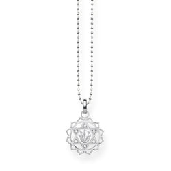 Thomas Sabo Silver & Zirconia Heart Chakra Necklace