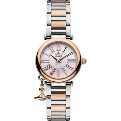 Vivienne Westwood Ladies Mother ORB Two Tone Watch