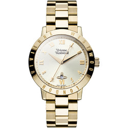 Vivienne Westwood Ladies Bloomsbury Gold Plated Watch