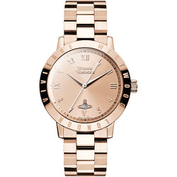 Vivienne Westwood Bloomsbury Rose Gold Tone 35 mm Watch